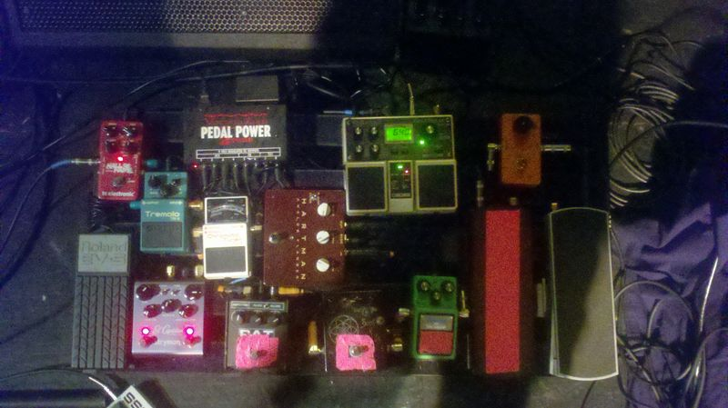 Justin Hasting Pedal Board
